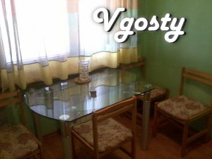 Rent apartments 2-com. apartment. Rn guest. Sports. - Apartments for daily rent from owners - Vgosty