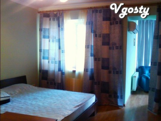 Odessa! Postuochno! 1-room apartment. Mechnikov Str. (New) Center - Apartments for daily rent from owners - Vgosty