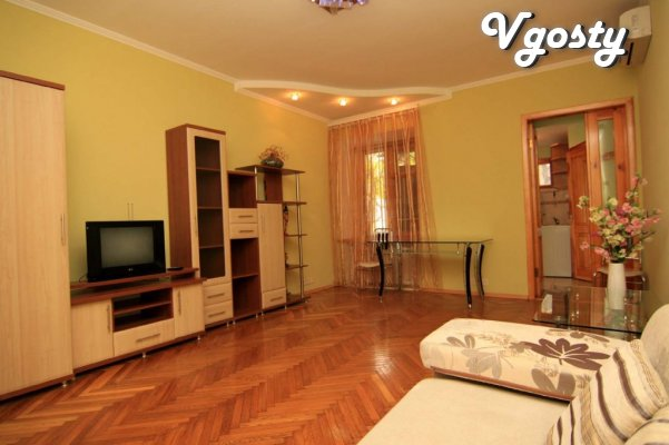 The sea walk 5 min.Tsentr city. - Apartments for daily rent from owners - Vgosty