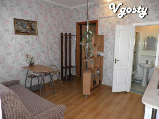 Rent by the day 1-for a studio apartment with a sea view - Apartments for daily rent from owners - Vgosty