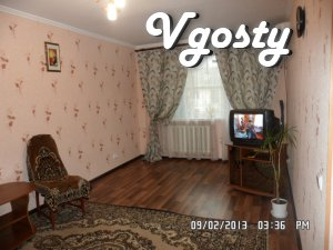 """Rent 1-square, p-n Cafe """"Smile."""" Wi-Fi. - Apartments for daily rent from owners - Vgosty"""