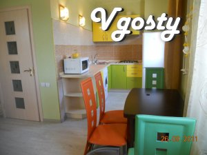 3komn. apartment with barbecue, WiFi. m. Livoberezhna 2km - Apartments for daily rent from owners - Vgosty