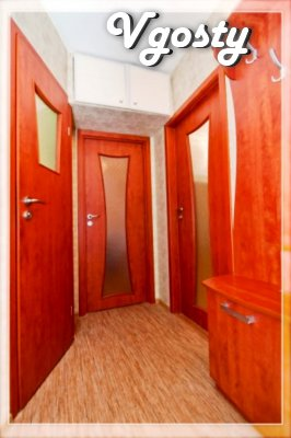 Cozy 1-room apartment near the m.23 August - Apartments for daily rent from owners - Vgosty