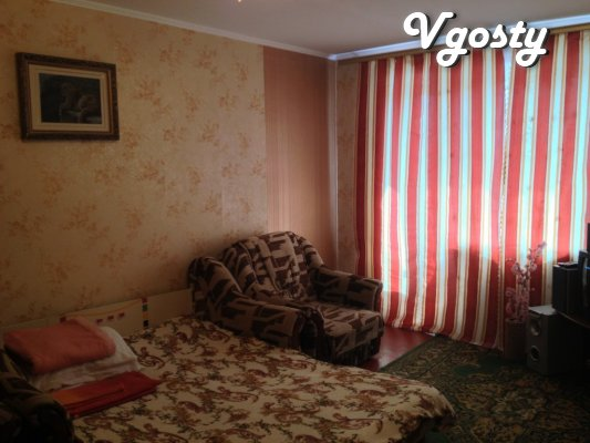 day in the center, all amenities - Apartments for daily rent from owners - Vgosty
