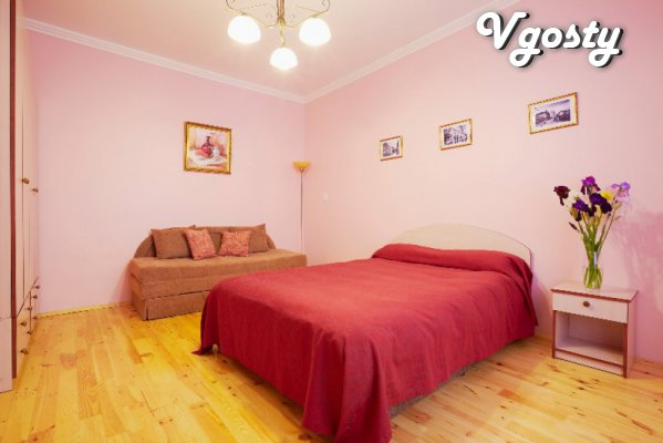 1-com. apartment in the center of the city. Until Sq. The market for 2 - Apartments for daily rent from owners - Vgosty