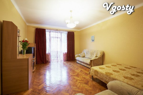 2 rooms razdelnyeyu center WiFi - Apartments for daily rent from owners - Vgosty