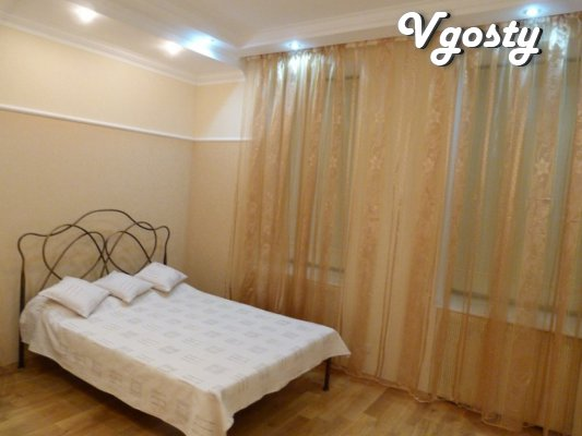 5 min. to the Opera. Romantic obstanovkayu WiFi - Apartments for daily rent from owners - Vgosty