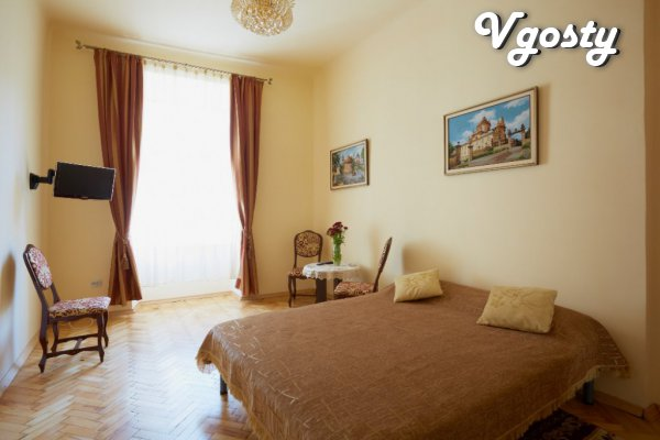 100 m to the Pl. Market. The center itself. - Apartments for daily rent from owners - Vgosty