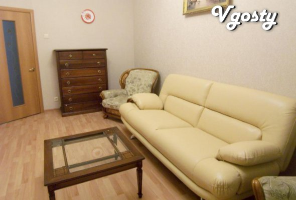 Prostornaya dvuhkomnatnaya apartment for 5 man - Apartments for daily rent from owners - Vgosty