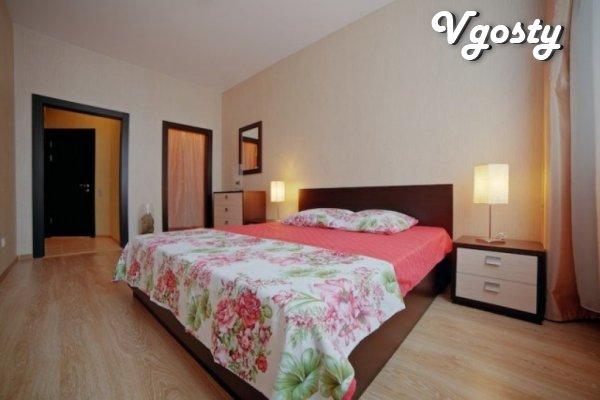 Sympatychnaya and supersovremennaya dvuhkomnatnaya apartment - Apartments for daily rent from owners - Vgosty
