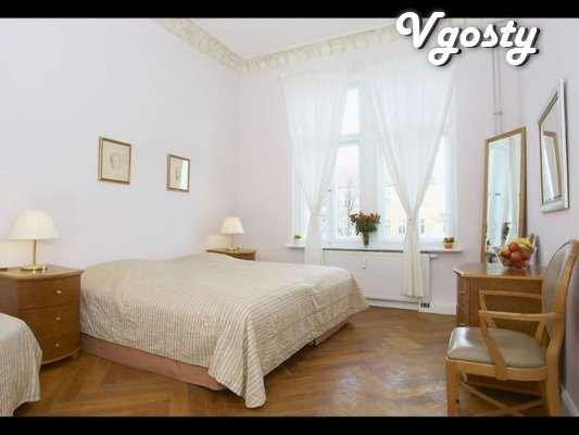 Belo-bezhevыe trehkomnatnыe Apartments - Apartments for daily rent from owners - Vgosty