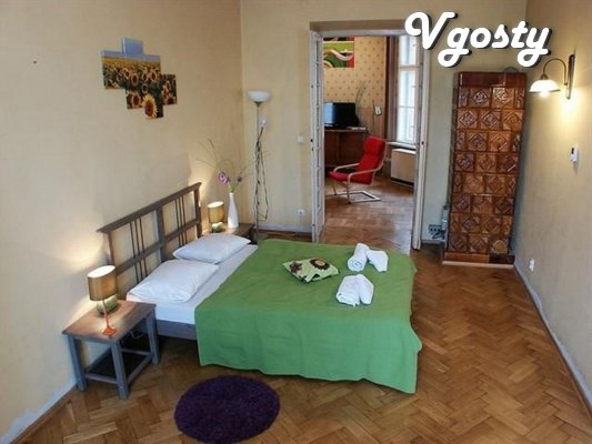 Apartment in retro style with striking textiles - Apartments for daily rent from owners - Vgosty
