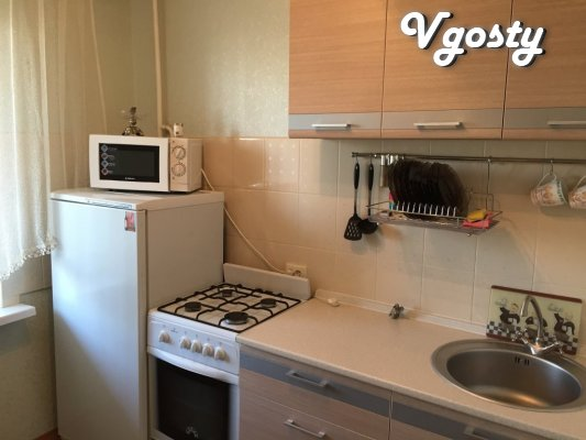One bedroom apartment in a quiet, comfortable place - Apartments for daily rent from owners - Vgosty