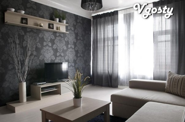 Ocna apartments vыhodyat Park - Apartments for daily rent from owners - Vgosty