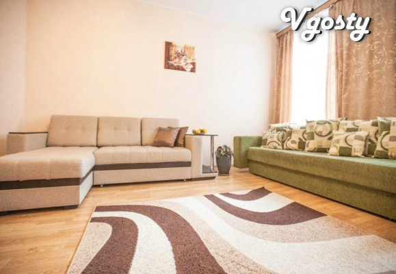 All vasheho comfort within this dvuhkomnatnoy apartment - Apartments for daily rent from owners - Vgosty