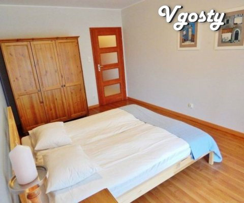Red sofa - Apartments for daily rent from owners - Vgosty