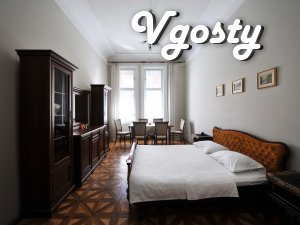 4-room apartment in the very heart of Lviv - Apartments for daily rent from owners - Vgosty
