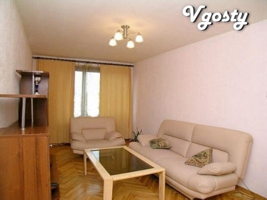 Shykarnaya trehkomnatnaya apartment in the center of the city of Lviv - Apartments for daily rent from owners - Vgosty