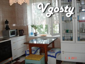 apartment in the city center Yuzhnoukrainsk - Apartments for daily rent from owners - Vgosty