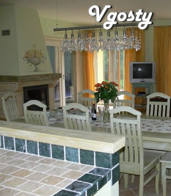 Large house in parkovoy zone for rent - Apartments for daily rent from owners - Vgosty