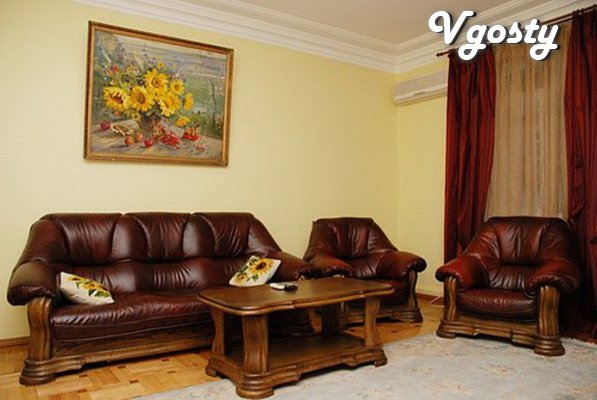 "Chetыrehkomnatnaya flat class ""luxury"" - Apartments for daily rent from owners - Vgosty"