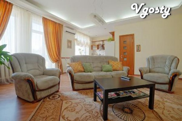 Sun and vozdushnaya apartment for 8 zhdet you - Apartments for daily rent from owners - Vgosty