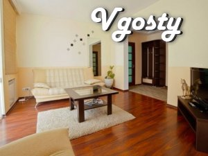 Modern, but at domashnemu cozy apartment dvuhkomnatnaya - Apartments for daily rent from owners - Vgosty