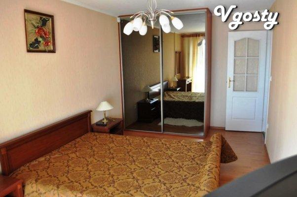 Prostornaya trehkomnatnaya apartment - Apartments for daily rent from owners - Vgosty