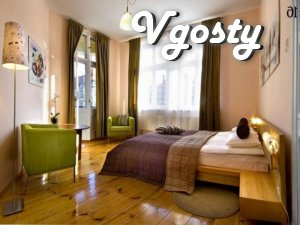 Neveroyatno stylnaya apartment in the city center. - Apartments for daily rent from owners - Vgosty