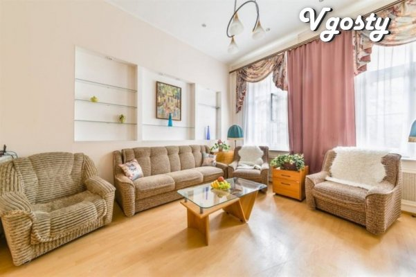 Vnushytelnыh razmerov apartment in the center of Lviv for 7 man - Apartments for daily rent from owners - Vgosty