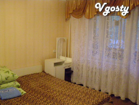 Rent 4 komn.kv.POSUTOChNO, hourly - Apartments for daily rent from owners - Vgosty