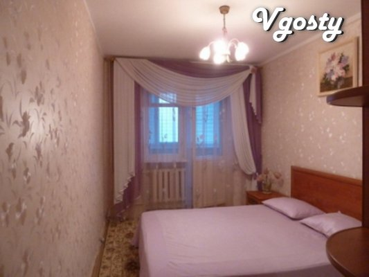Proposed daily rent 3 com. sq. first line to the sea - Apartments for daily rent from owners - Vgosty