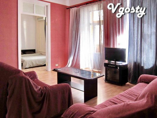 3 k.ul.Basseynaya3, center, m.Lva Tolstoy, the Palace of Sports, sleep - Apartments for daily rent from owners - Vgosty