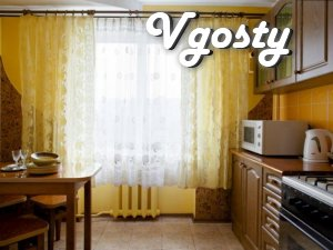 2 -com apartment at Lutsk, Prospect Reunion - Apartments for daily rent from owners - Vgosty