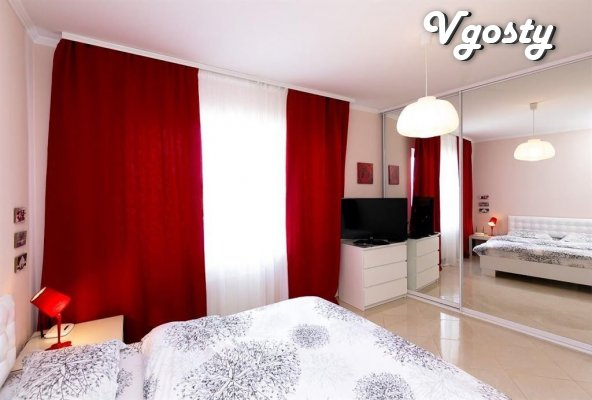 Tandem deeply White and Red - Apartments for daily rent from owners - Vgosty