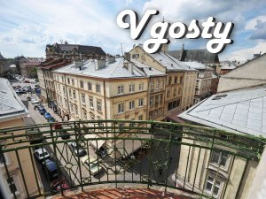 4-bedroom apartment with fantastic views - Apartments for daily rent from owners - Vgosty
