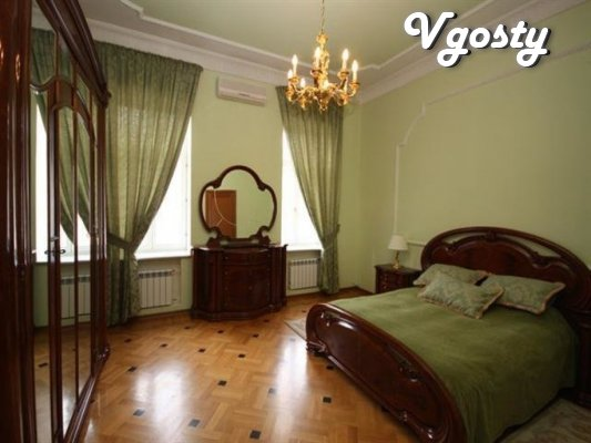 Trehkomnatnaya by this apartment in klassycheskom style - Apartments for daily rent from owners - Vgosty