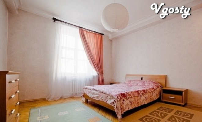 Luchshee proposal in Lviv, trehkomnatnaya apartment posutocho - Apartments for daily rent from owners - Vgosty