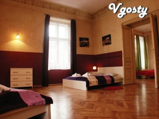 Antykvarnaya apartment IZ 4 komnat in the center - Apartments for daily rent from owners - Vgosty