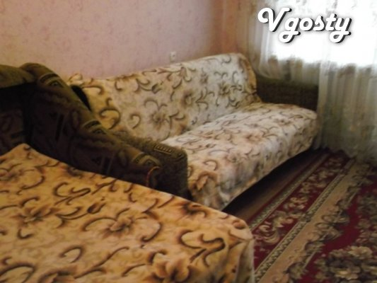 Rent apartments 2-bedroom near the resort Mirgorod - Apartments for daily rent from owners - Vgosty