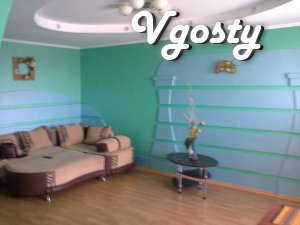 The sleeping area is located near the park - Apartments for daily rent from owners - Vgosty