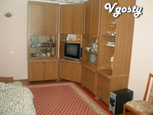 Apartment 2 room center, ind. heating, internet, wi-fi - Apartments for daily rent from owners - Vgosty