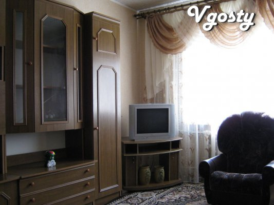 Excellent 3 BR. apartment in the center. Wi-fi, 8 beds, receipts - Apartments for daily rent from owners - Vgosty