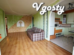 Comfortable VIP apartment in the very center of Rivne with a view to t - Apartments for daily rent from owners - Vgosty