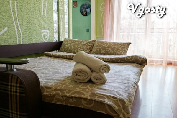 VIP Comfortable apartment in the heart level with a view to the center - Apartments for daily rent from owners - Vgosty