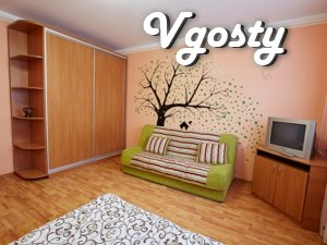 Stylish one-bedroom apartment in a new building on Zhukov 21b - Apartments for daily rent from owners - Vgosty
