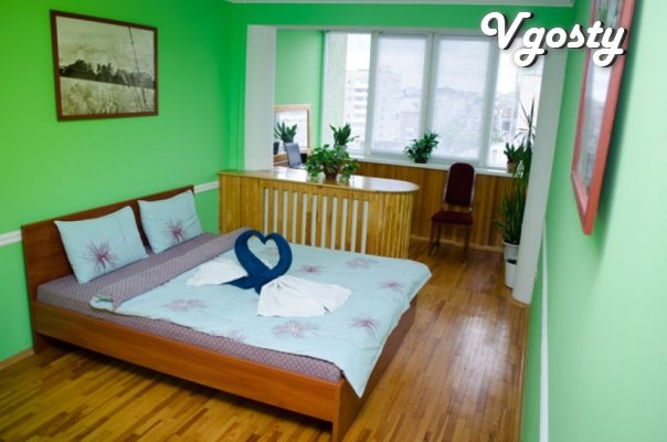 VIP apartment in the heart of the city on Independence Square. - Apartments for daily rent from owners - Vgosty
