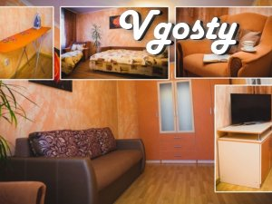 Comfortable apartment in the park. Wi-Fi. - Apartments for daily rent from owners - Vgosty