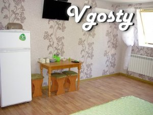Rest with comfort - 50 m from the sea, Center - Apartments for daily rent from owners - Vgosty