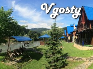 Cottage with fireplace and sauna-Yavirnyk 1 - Apartments for daily rent from owners - Vgosty